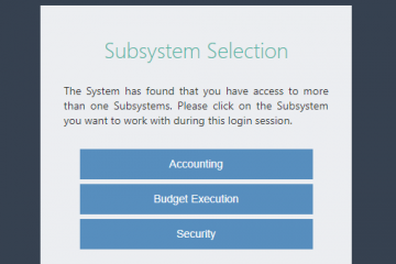 ibas++ budget execution module
